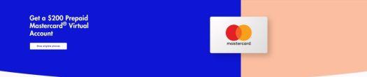 Visible 200 Mastercard Deal Header