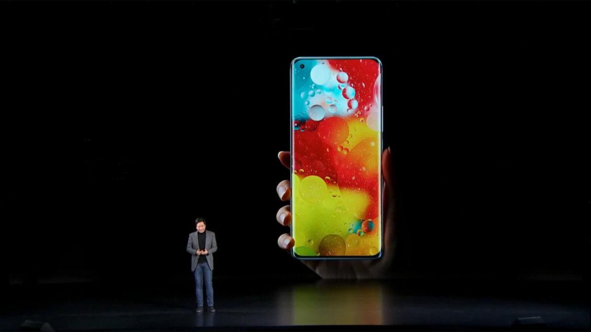 Xiaomi Mi 11 frente novamente
