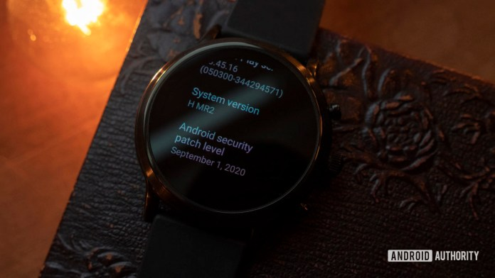 fossil gen 5 wear os smartwatch h mr2