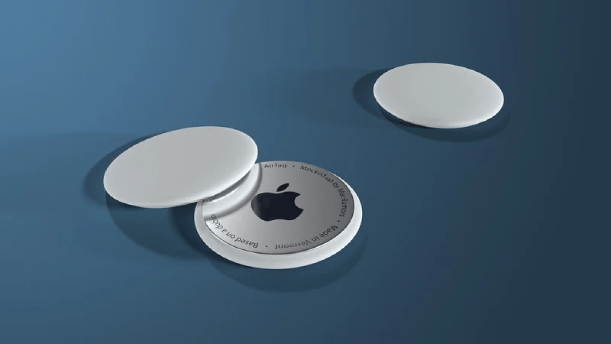 Apple AirTags Mockup