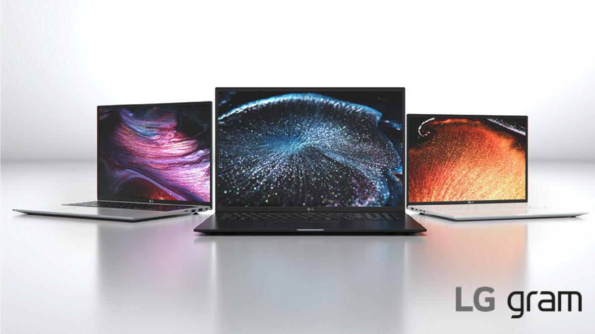 Laptops LG Gram 2021