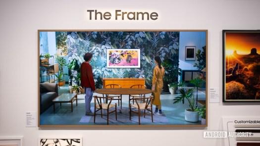 Samsung Frame 85 inch 2021 1