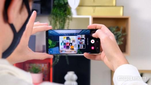 Samsung Galaxy S21 Directors view