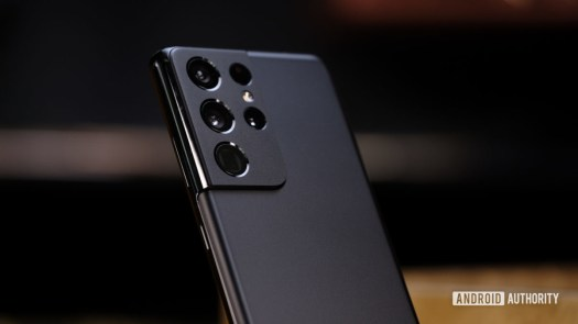 Samsung Galaxy S21 Ultra macro of back cameras