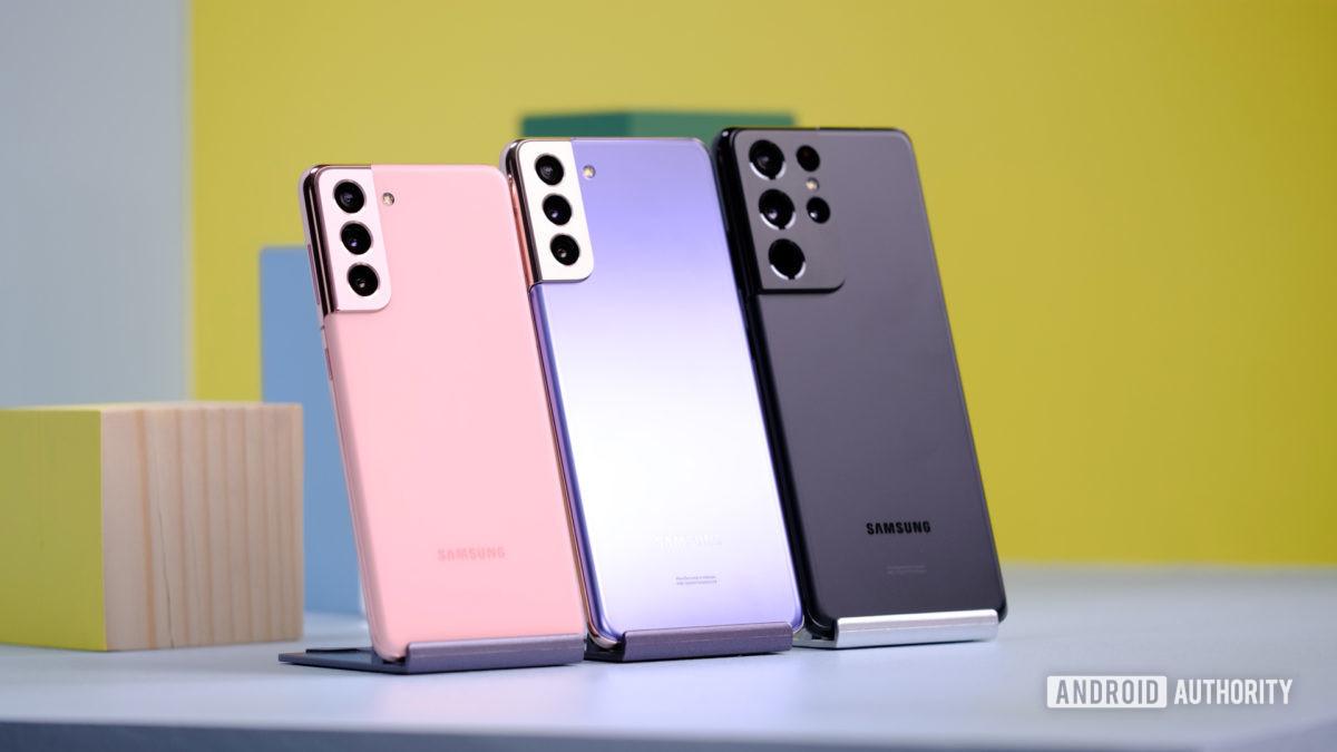Samsung Galaxy S21 против S21 Plus против S21 Ultra 1 1