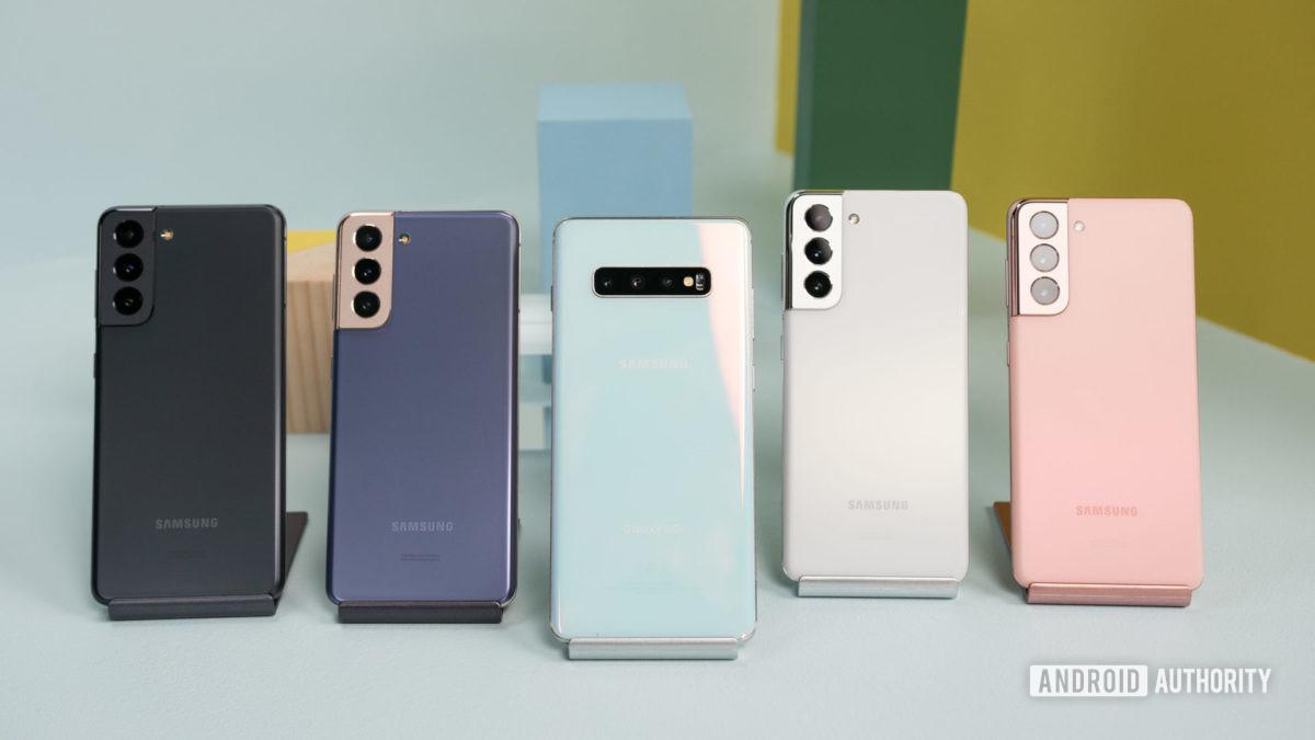 Samsung Galaxy S21 vs Samsung Galaxy S10 Plus 3