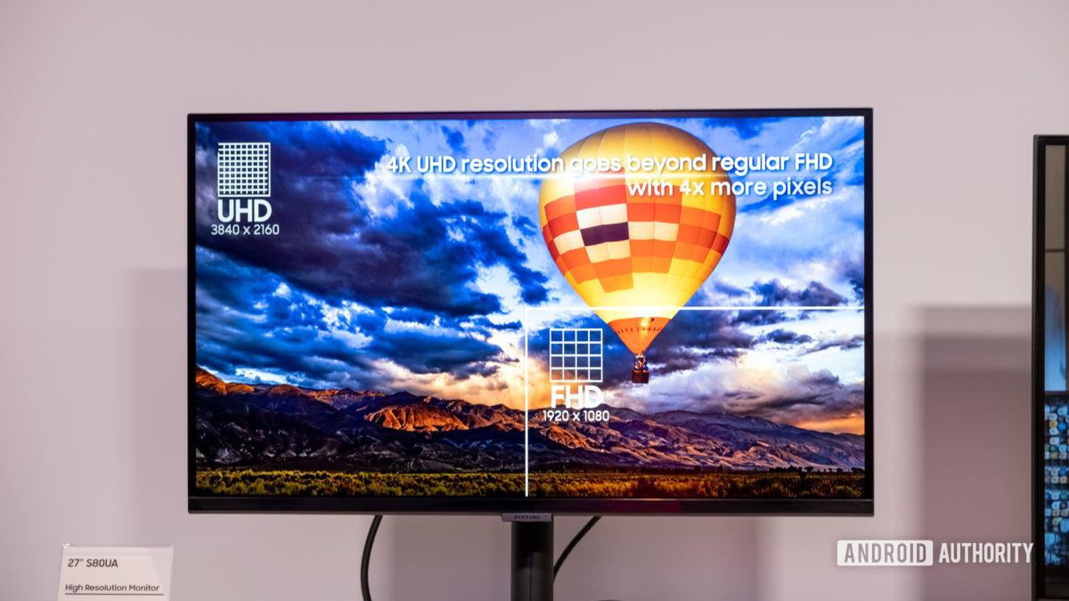 Monitor Samsung S80UA 4k