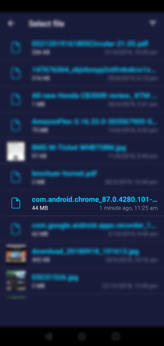 Send Files To TV App On Android Phone