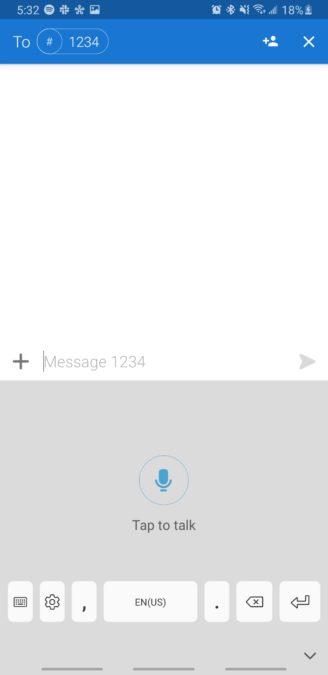 демонстрация голоса в текст на Android