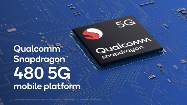 5G made truly affordable with the Qualcomm Snapdragon 480