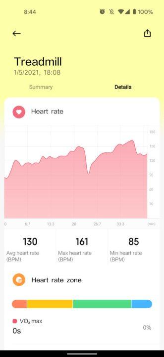 xiaomi mi watch lite review heart rate monitoring