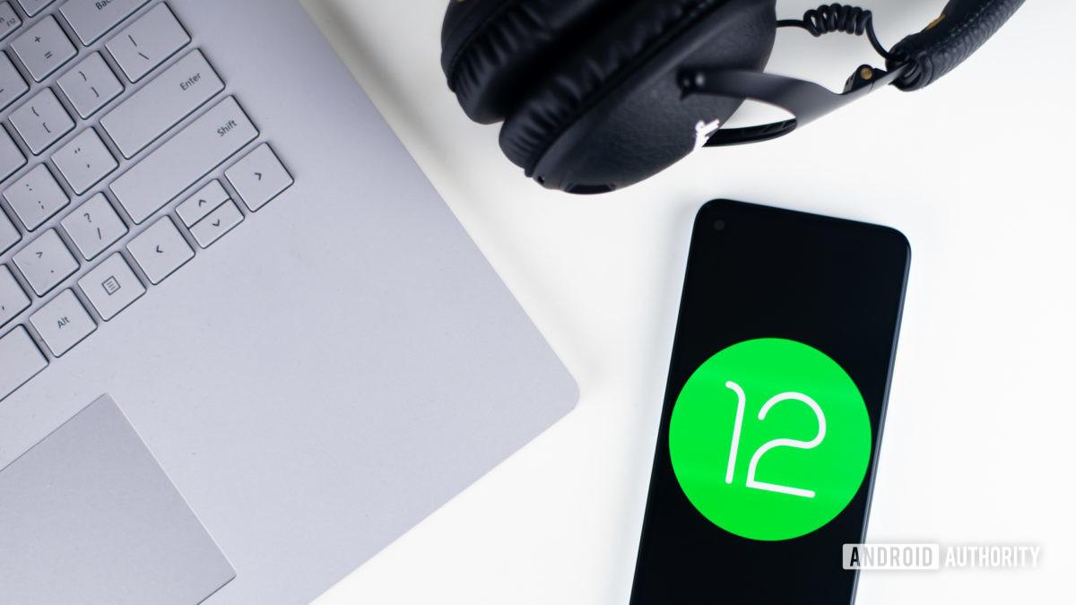 Android 12 стоковая фотография 7