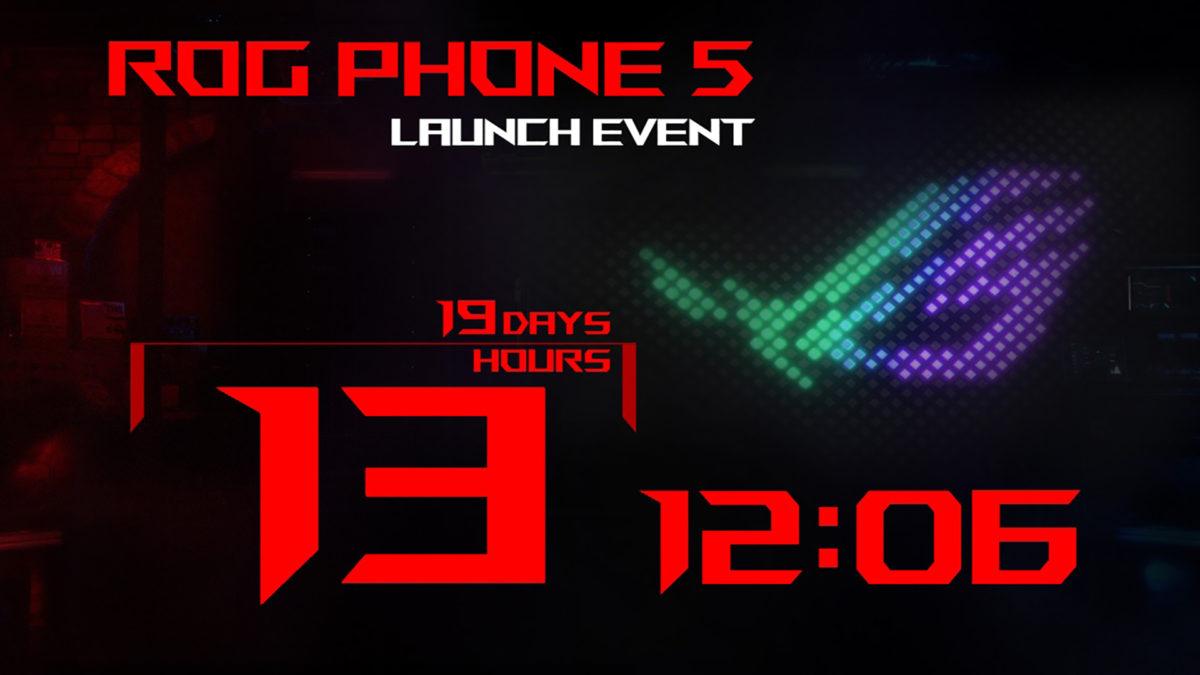 Data de lançamento do Asus ROG Phone 5