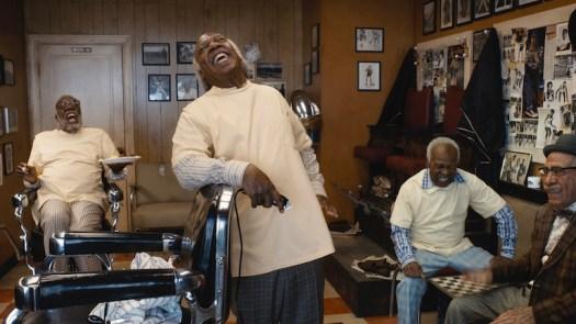 Coming 2 America barber shop