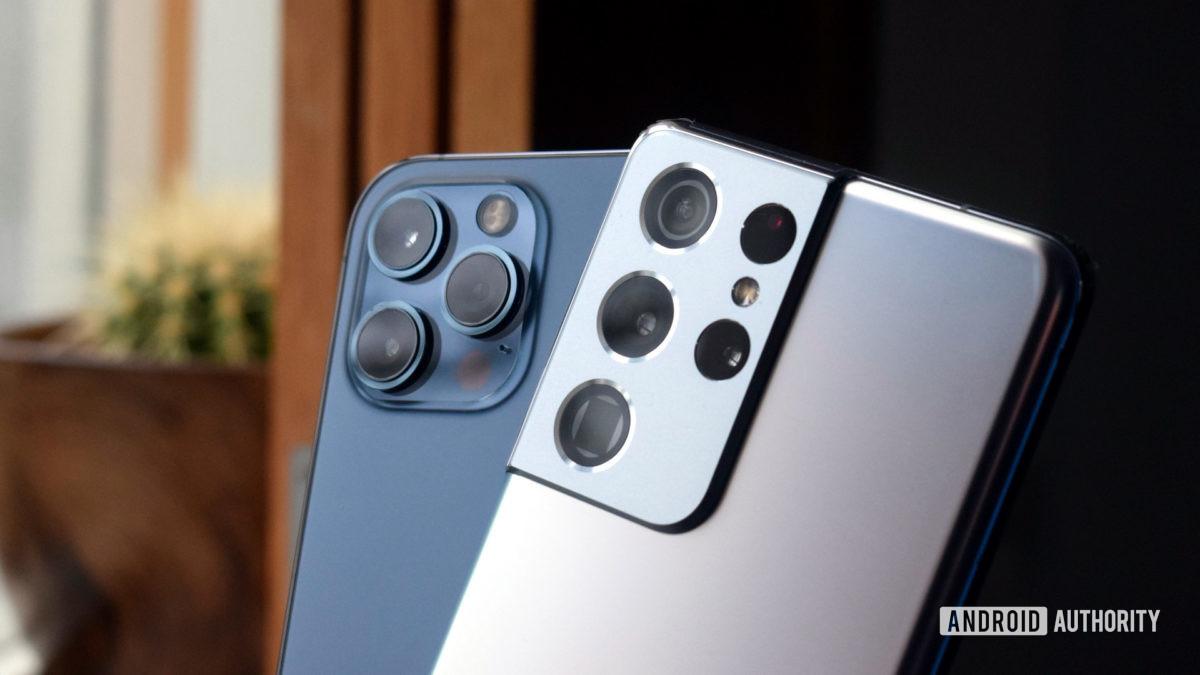 Galaxy S21 Ultra против камеры iPhone 12 Pro Max