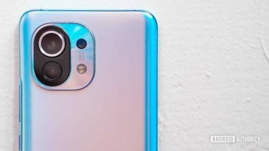 Xiaomi Mi 11 camera closeup