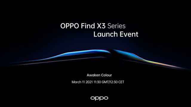Oppo Find X3 Launch Date Info
