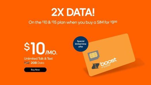 2X Data Boost Deal