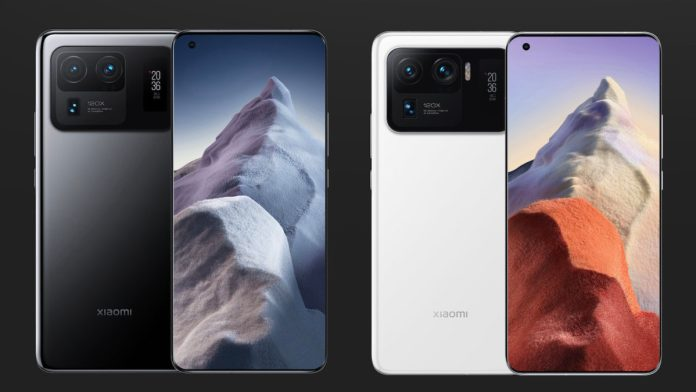 Xiaomi Mi 11 Ultra black and white