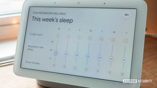 google nest hub second generation review sleep sensing respiratory wellness