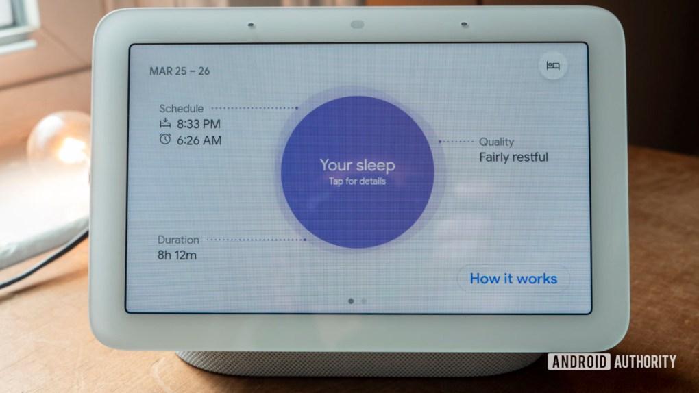 google nest hub second generation review sleep sensing sleep analysis