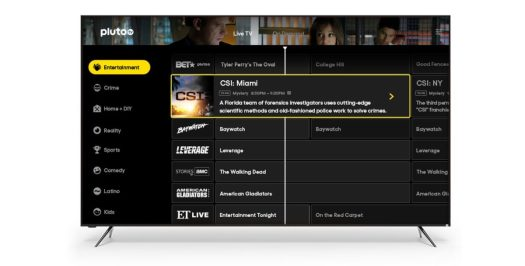 pluto tv smart tv