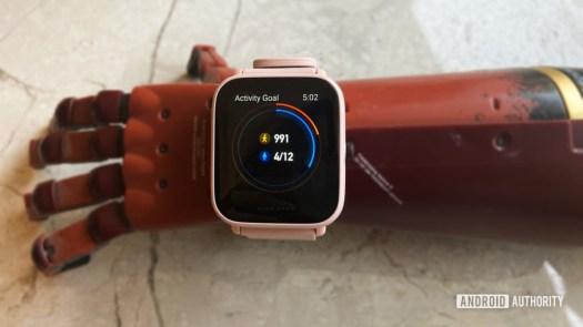 Amazfit Bip U Pro Step Tracking