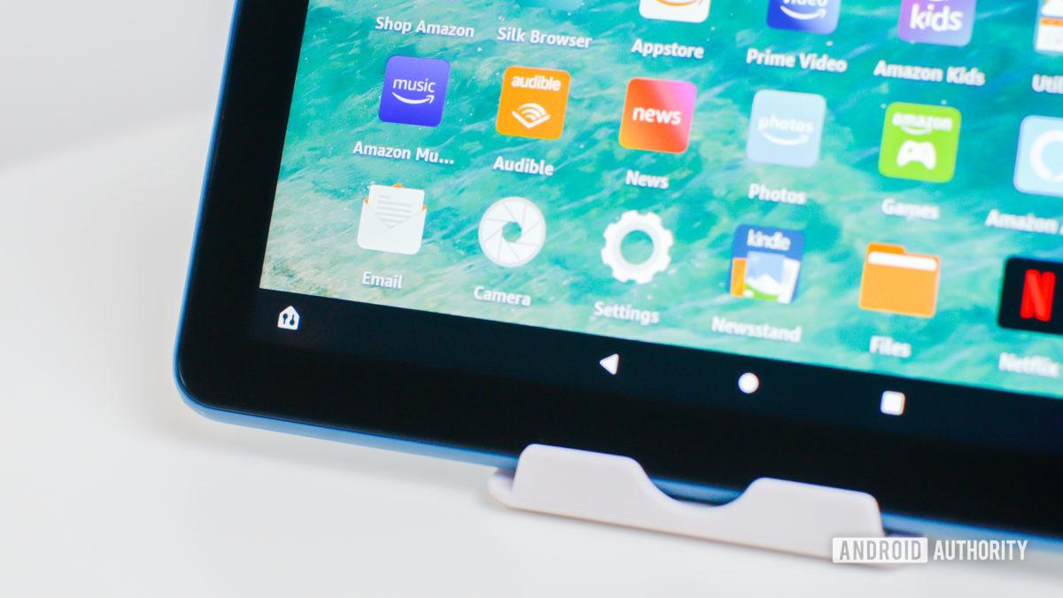 Панель управления Amazon Fire HD 8 Devide 2