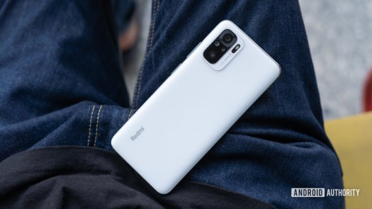 Redmi Note 10 review lead image of phone