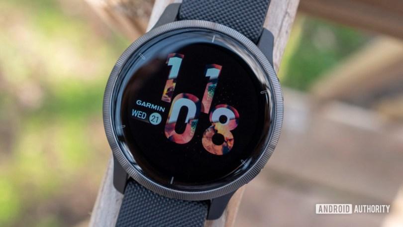 garmin venu 2 review watch face display 2