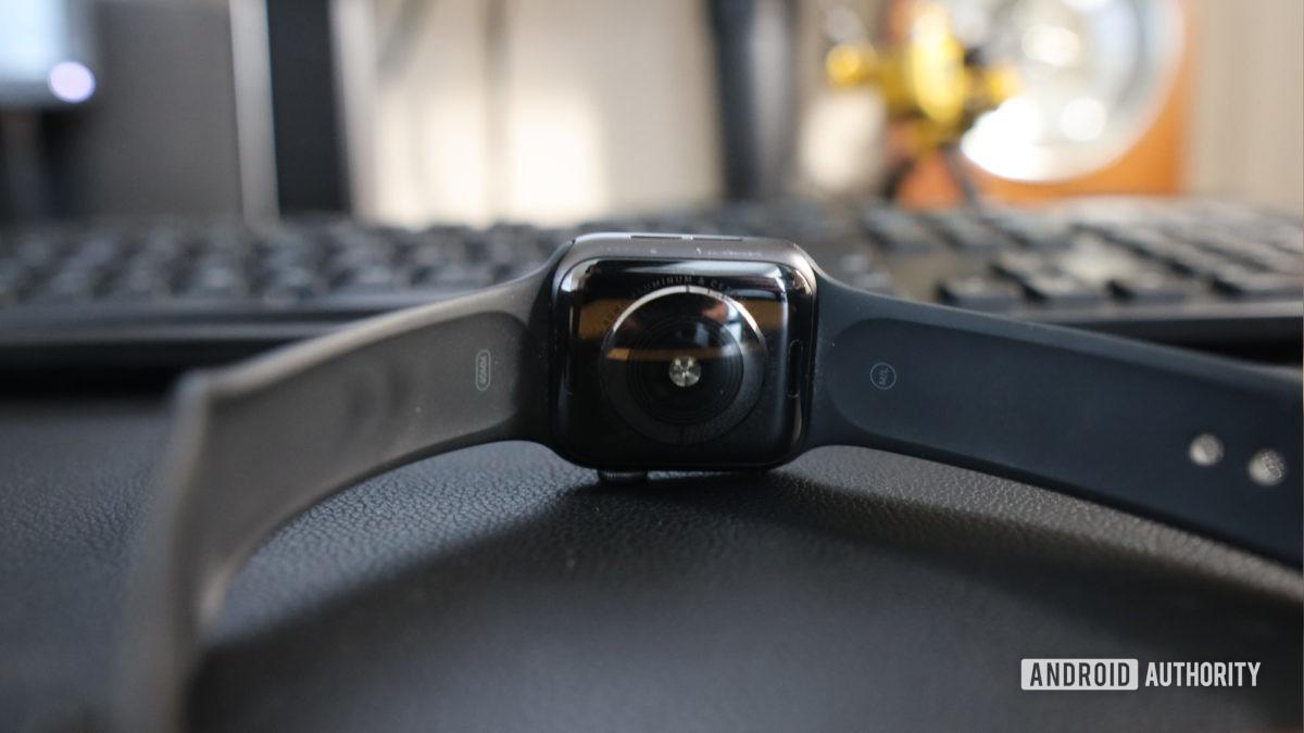 Датчик ЭКГ Apple Watch