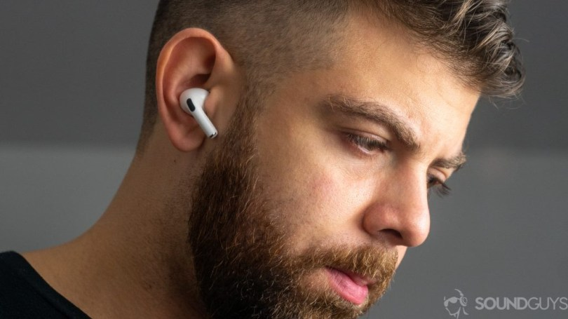 AirPods Pro in ear