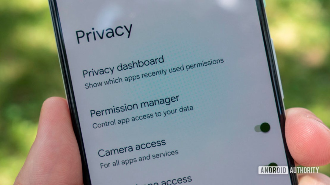 android 12 beta 2 privacy dashboard privacy settings menu