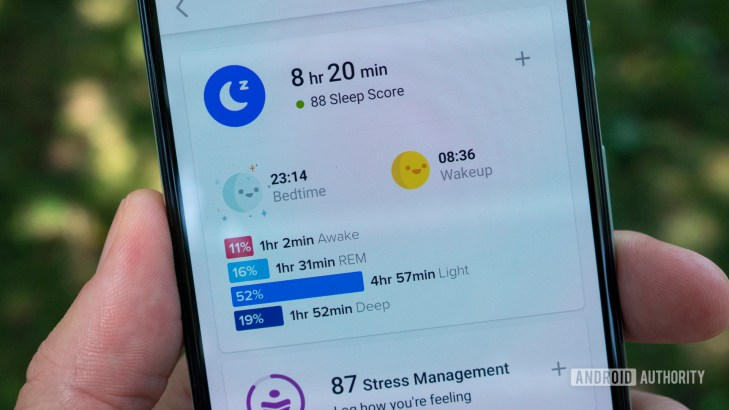 fitbit luxe review fitbit app sleep stats score