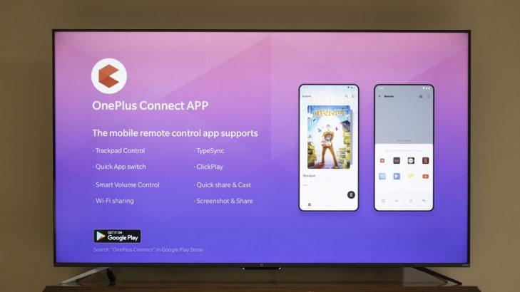 oneplus tv oneplus connect app