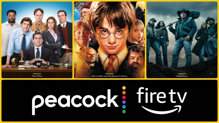 peacock fire tv tablet
