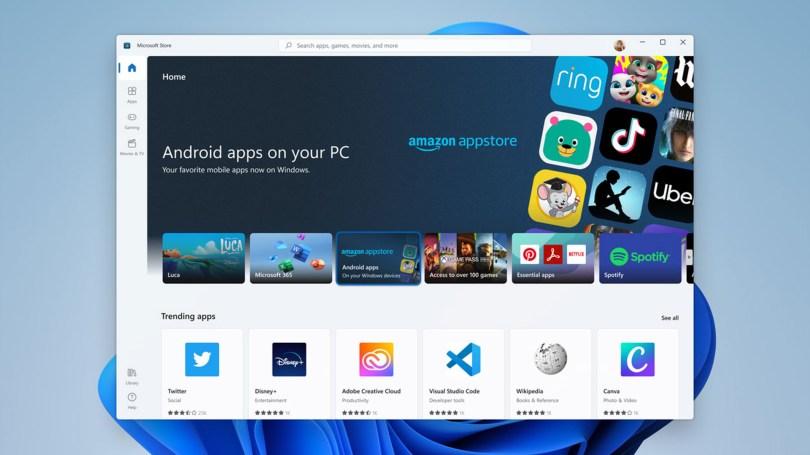 windows 11 amazon appstore android