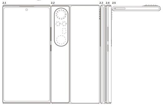 xiaomi smartphone patent design jun 2021 2