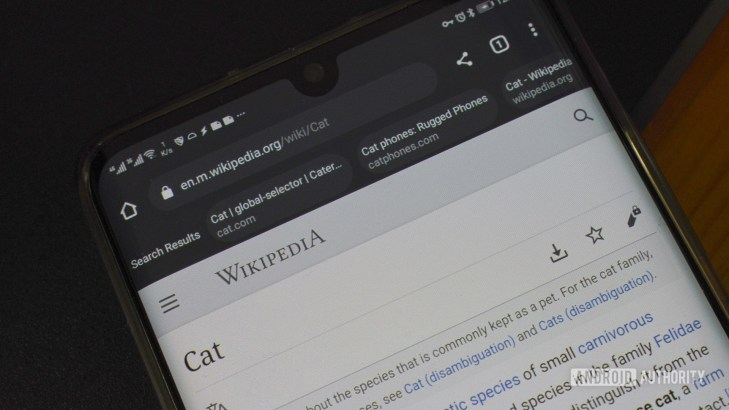 google chrome continous search navigation