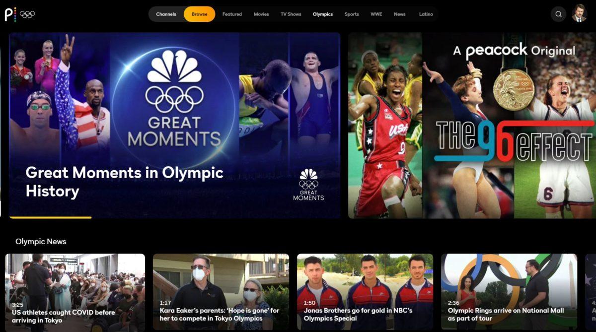 олимпийские игры павлина