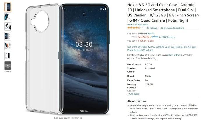 Nokia 8 Amazon Deal