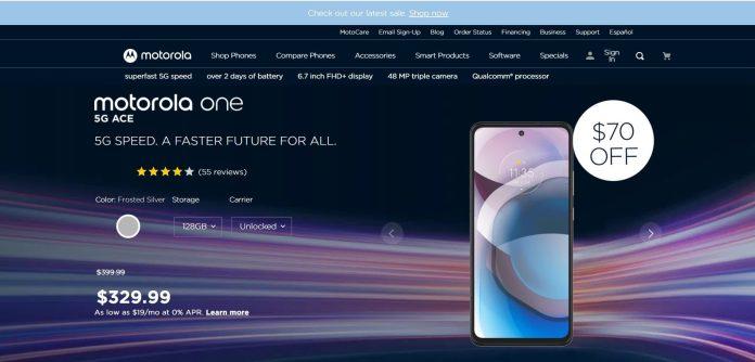 Motorola One 5G Ace Deal