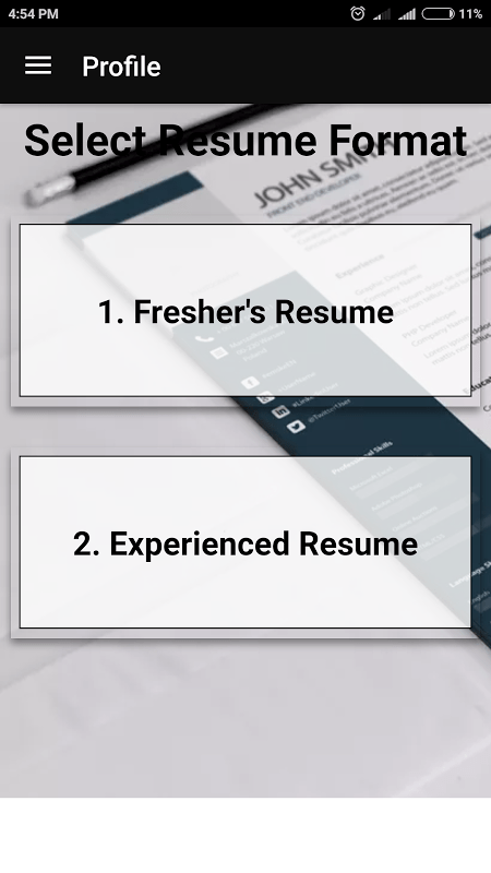 Best Resume Builder Pro   CV Templates 2018 Resume format in PDF 7 7         best resume builder pro cv templates 2018 resume format in pdf  screenshot 3