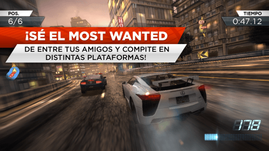 need for speed most wanted captura de pantalla 3