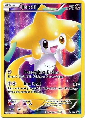 Pokemon X Y Promo Single Card Promo Holo Full Art Jirachi