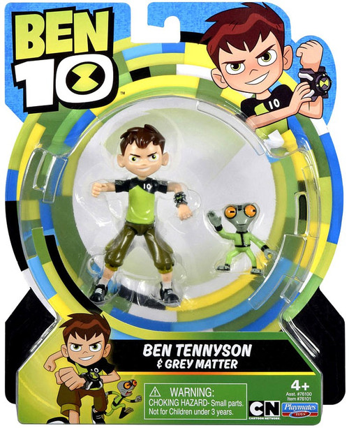 Ben 10 Basic Ben Tennyson Grey Matter 5 Action Figure