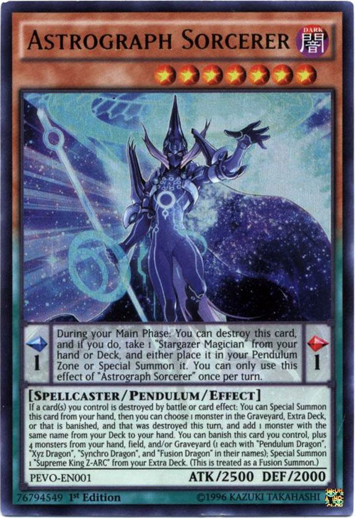 YuGiOh Pendulum Evolution Single Card Ultra Rare