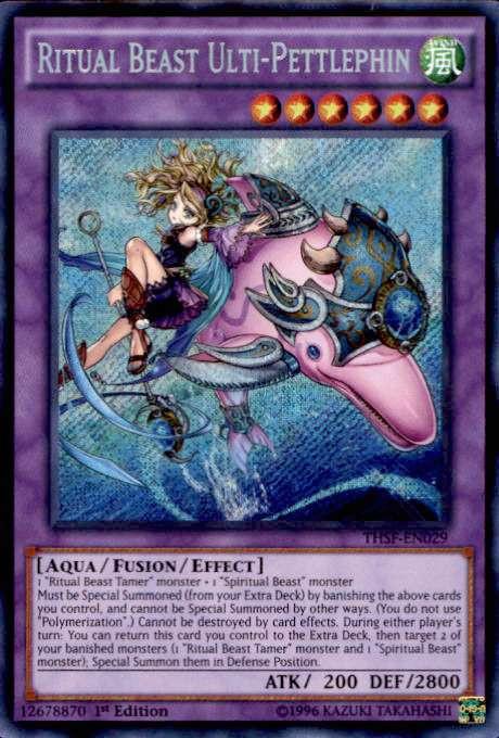 YuGiOh The Secret Forces Single Card Secret Rare Ritual