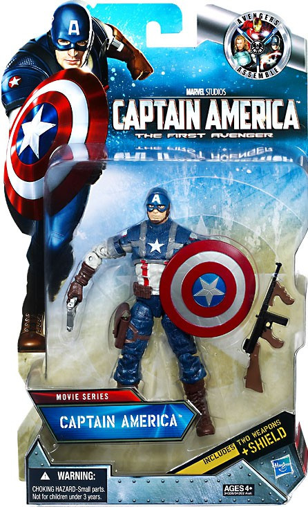Captain America The First Avenger Movie Series 6 Inch
