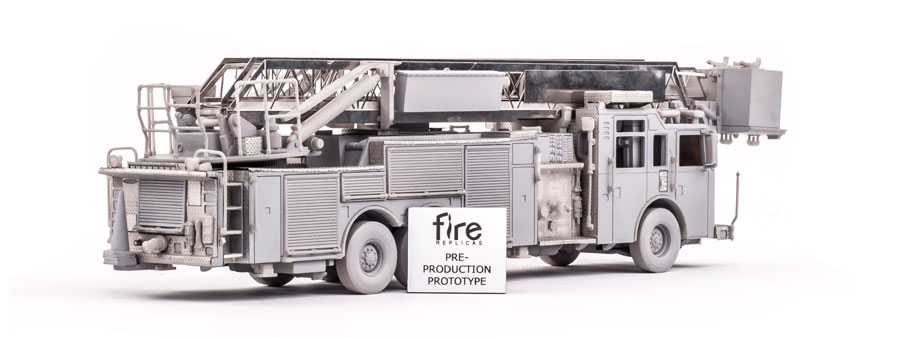 Broward County Sheriff Fire Rescue Platform 32 Scale Model ...